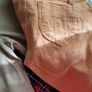 Pair of corduroy pants